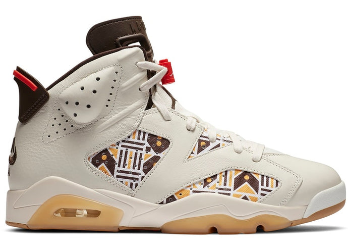 Jordan 6 Retro Quai54 Sail Brown (2020)