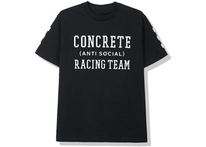 Anti Social Social Club Concrete Jungle Racing Team Tee (FW19) Black