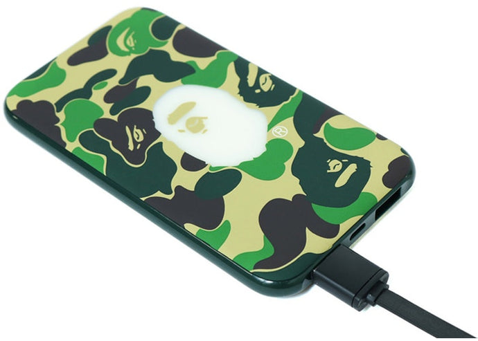 BAPE 5000 mAh ABC Power Bank Green