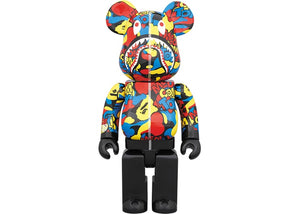 Bearbrick BAPE Camo Shark 400% Multi