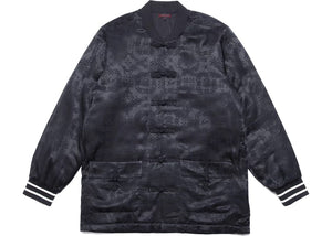 CLOT x Fragment Black Silk Jacket Black