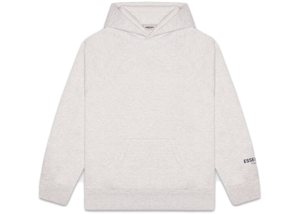 FEAR OF GOD ESSENTIALS Core Pullover Hoodie Heather Grey