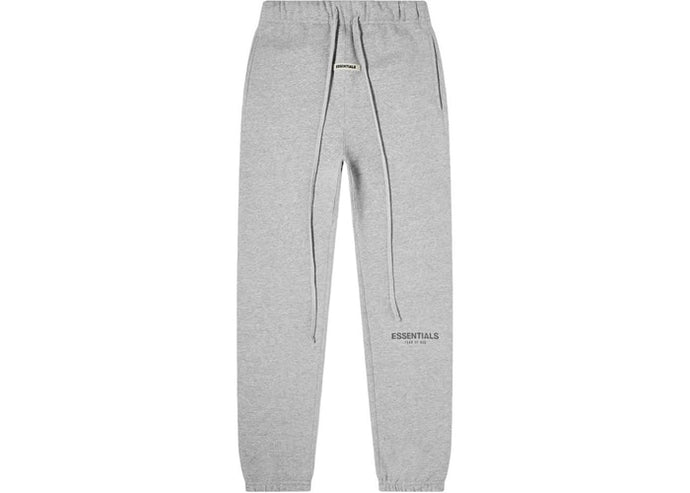 FEAR OF GOD ESSENTIALS Sweatpants Dark Heather Grey/Black