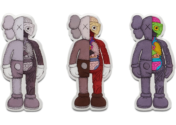 KAWS Companion Flayed Magnet Set Multi