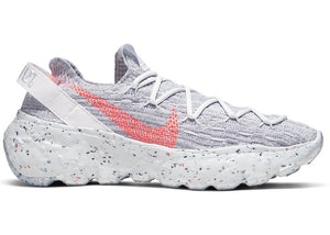 Nike Space Hippie 04 Summit White Hyper Crimson (W)