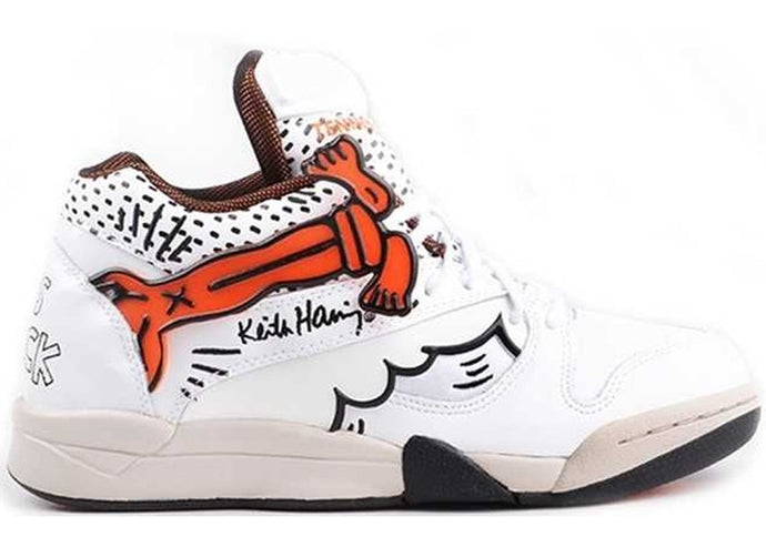 Reebok Court Victory Pump Keith Haring