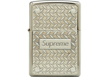 Load image into Gallery viewer, Supreme Diamond Plate Zippo Metal