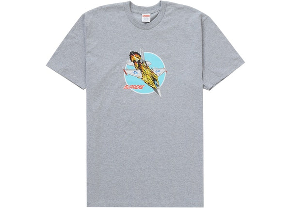Supreme Jet Tee Heather Grey
