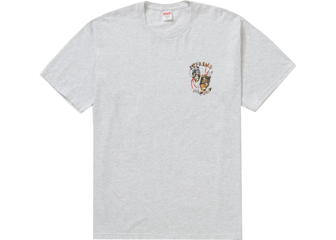 Supreme Laugh Now Tee Ash Grey