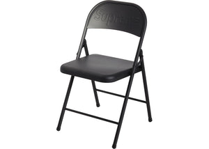 Supreme Metal Folding Chair Black