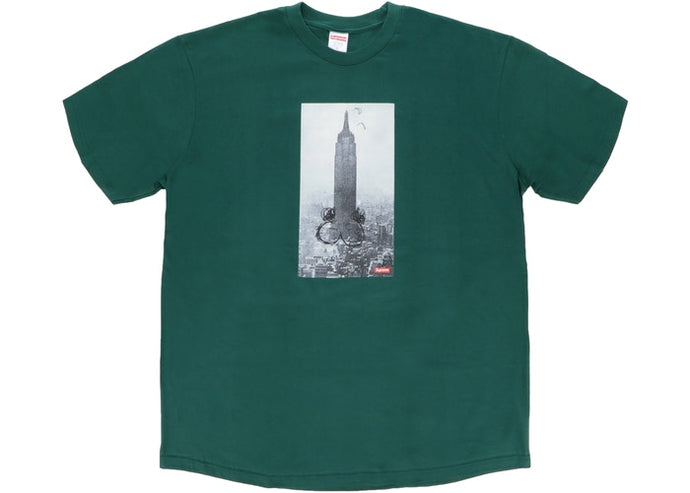Supreme Mike Kelley The Empire State Building Tee Dark Green