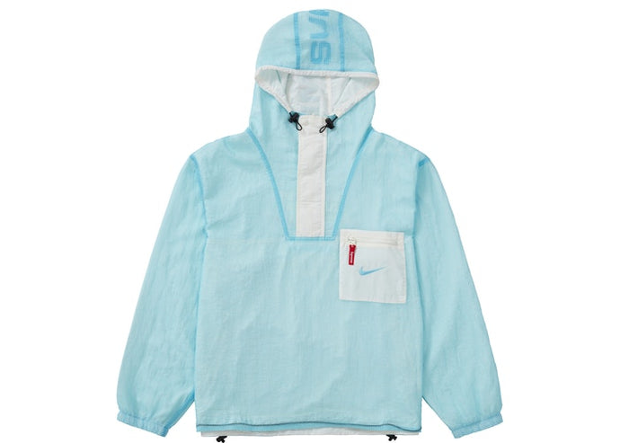 Supreme Nike Jewel Reversible Ripstop Anorak Light Blue