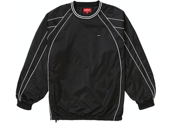 Supreme Piping Warm Up Pullover Black