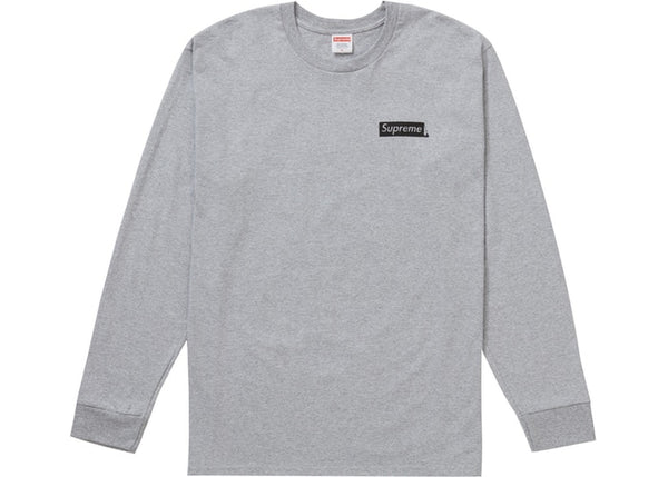 Supreme Sacred Unique L/S Tee Heather Grey