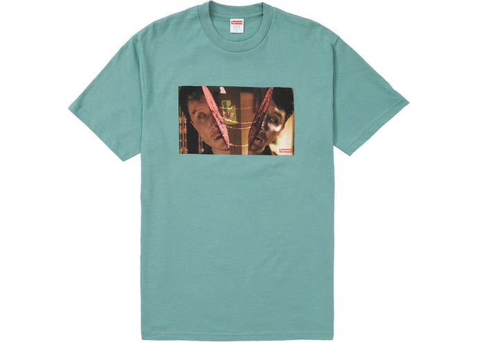 Supreme Split Tee Dusty Teal