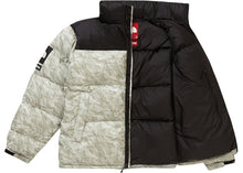 Load image into Gallery viewer, Supreme The North Face Paper Print Nuptse Jacket Paper Print
