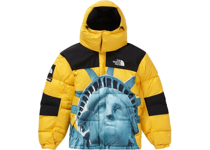 Supreme x The North Face Baltoro Jacket Yellow FW19 Yellowish