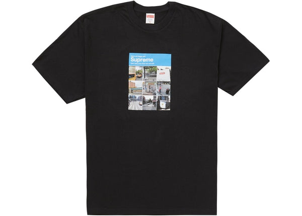 Supreme Verify Tee Black