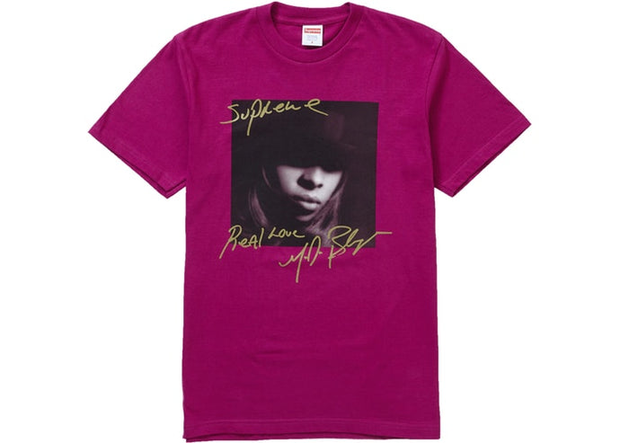Supreme Mary J. Blige Tee Magenta