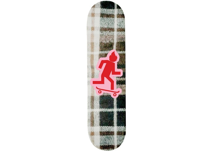 Travis Scott Cactus Jack Plaid Skateboard Deck