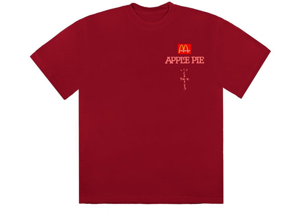 Travis Scott x McDonald's Apple Pie T-Shirt Red