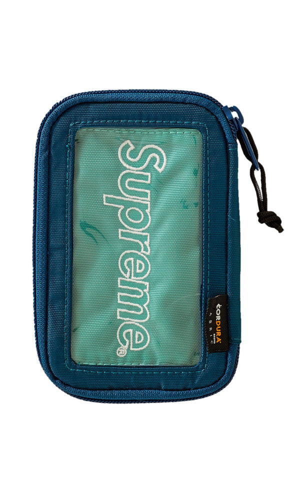 SUPREME SMALL ZIP POUCH DARK TEA
