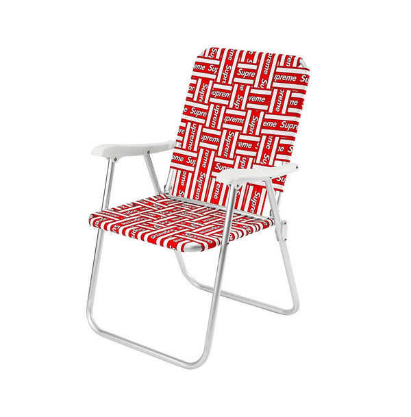 Supreme Lawn Chair Red
