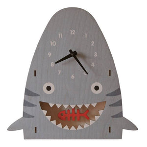 Modern Moose Pendulum Shark Clock