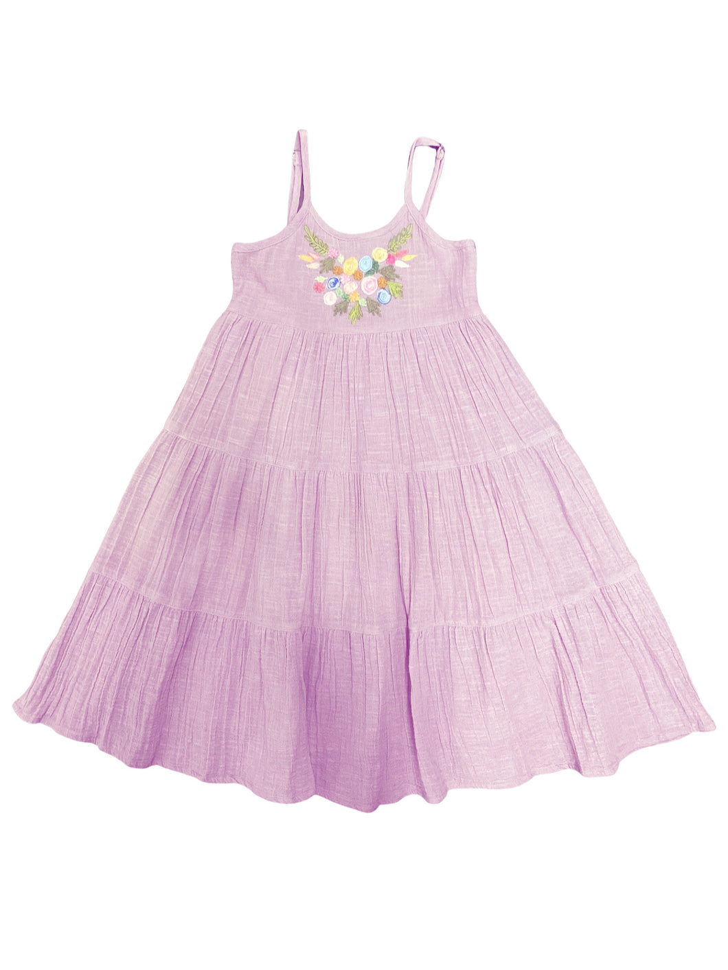 Mimi & Maggie Botanical First Spring Blossoms Girls Dress