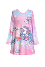 Load image into Gallery viewer, Baby Sara Unicorn A-Line Mesh Dress