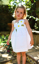 Load image into Gallery viewer, Baby Sara Empire Eyelet Dress