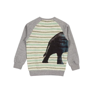 Paper Wings Raglan Sweater with Bands - Big Ears