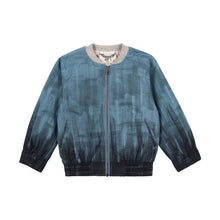 Load image into Gallery viewer, Paper Wings Chambray Bomber - Texta Ombre