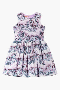 Paper Wings Dream Field Girls Dress