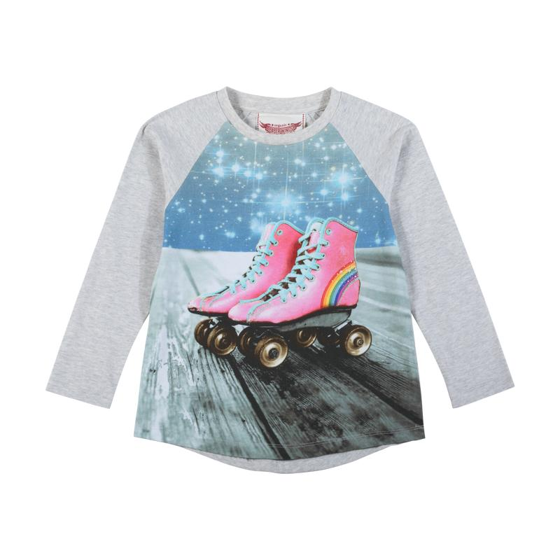 Paper Wings Classic Raglan T-Shirt - Space Roller