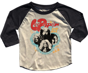 Rowdy Sprout Led Zeppelin Girlie Raglan