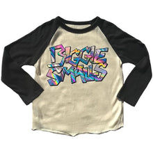 Load image into Gallery viewer, Rowdy Sprout Biggie Smalls Raglan Tee