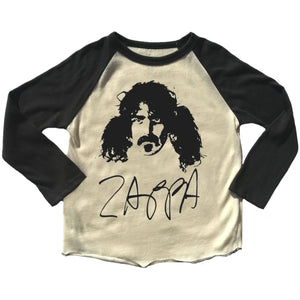 Rowdy Sprout Frank Zappa Raglan Tee