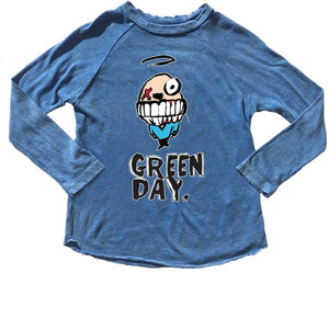 Rowdy Sprout Distressed Raglan