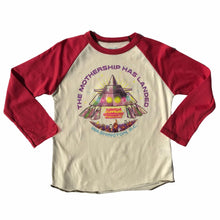Load image into Gallery viewer, Rowdy Sprout Parliament Raglan Tee