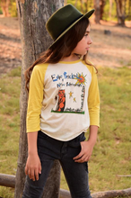 Load image into Gallery viewer, Rowdy Sprout Edie Brickell Girlie Raglan