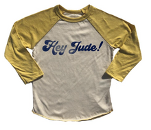Load image into Gallery viewer, Rowdy Sprout Hey Jude Raglan Tee