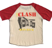 Load image into Gallery viewer, Rowdy Sprout The Clash Short Sleeve Raglan