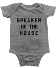 Load image into Gallery viewer, Love Bubby Bodysuit- Speaker of the House