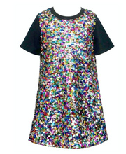 Load image into Gallery viewer, Baby Sara A-Line Sequin Dress