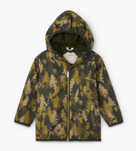 Load image into Gallery viewer, Hatley Forest Camo Microfiber Raincoat