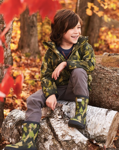 Hatley Forest Camo Microfiber Raincoat