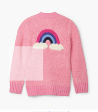 Load image into Gallery viewer, Hatley Pink Confetti Rainbow Cardigan