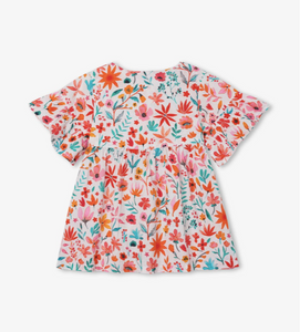 Hatley Summer Blooms Dolly Dress