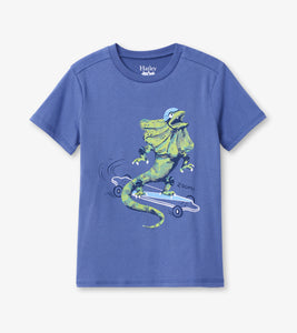 Hatley Skateboard Lizard Graphic Tee